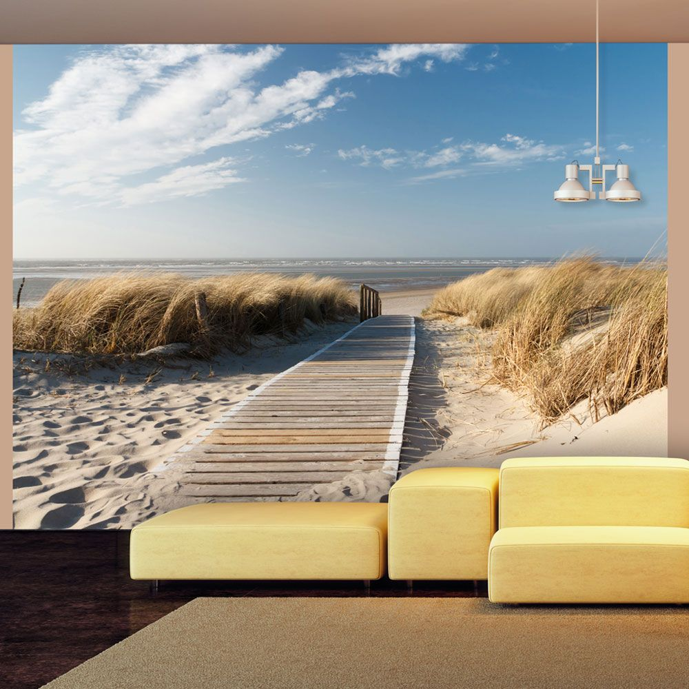 Fototapeta - North Sea beach, Langeoog
