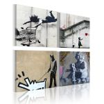 Obraz - Banksy - four orginal ideas