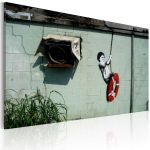 Obraz - Boy on a swing (Banksy)