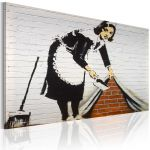 Obraz - Cleaning lady (Banksy)