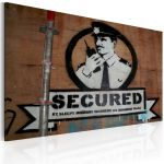 Obraz - Secured (Banksy)