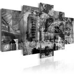 Obraz - The essence of London - 5 pieces