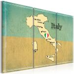 Obraz - Heart of Italy - triptych
