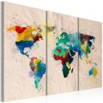 Obraz - The World of colors - triptych