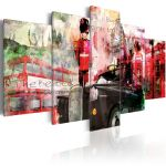 Obraz - Memories from London - 5 pieces