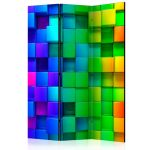 Paraván - Colourful Cubes
