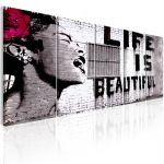 Obraz - Banksy: Life is Beautiful