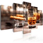 Obraz - Cigar and whiskey