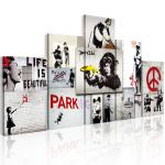 Obraz - Street Crimes: Banksy Art