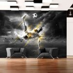 Fototapeta - Football legend