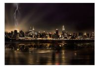 Fototapeta - Storm in New York City