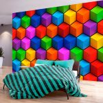 Fototapeta - Colorful Geometric Boxes