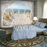 Fototapeta - Window View - Beach