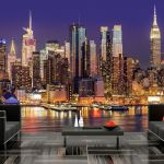 Fototapeta - NYC: Night City