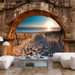 Fototapeta - Arch and Beach