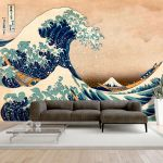 Fototapeta - Hokusai: The Great Wave off Kanagawa (Reproduction)