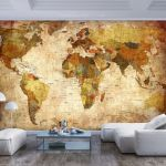 Fototapeta - Old World Map