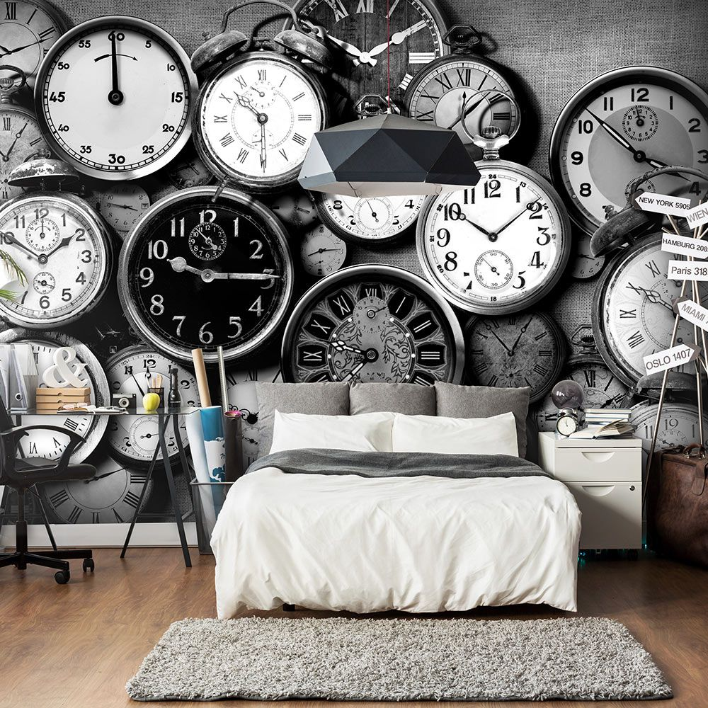 Fototapeta - Retro Clocks