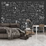 Fototapeta - Science on Chalkboard