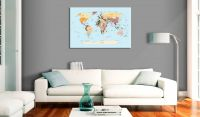 Obraz - World Map: Travel with Me