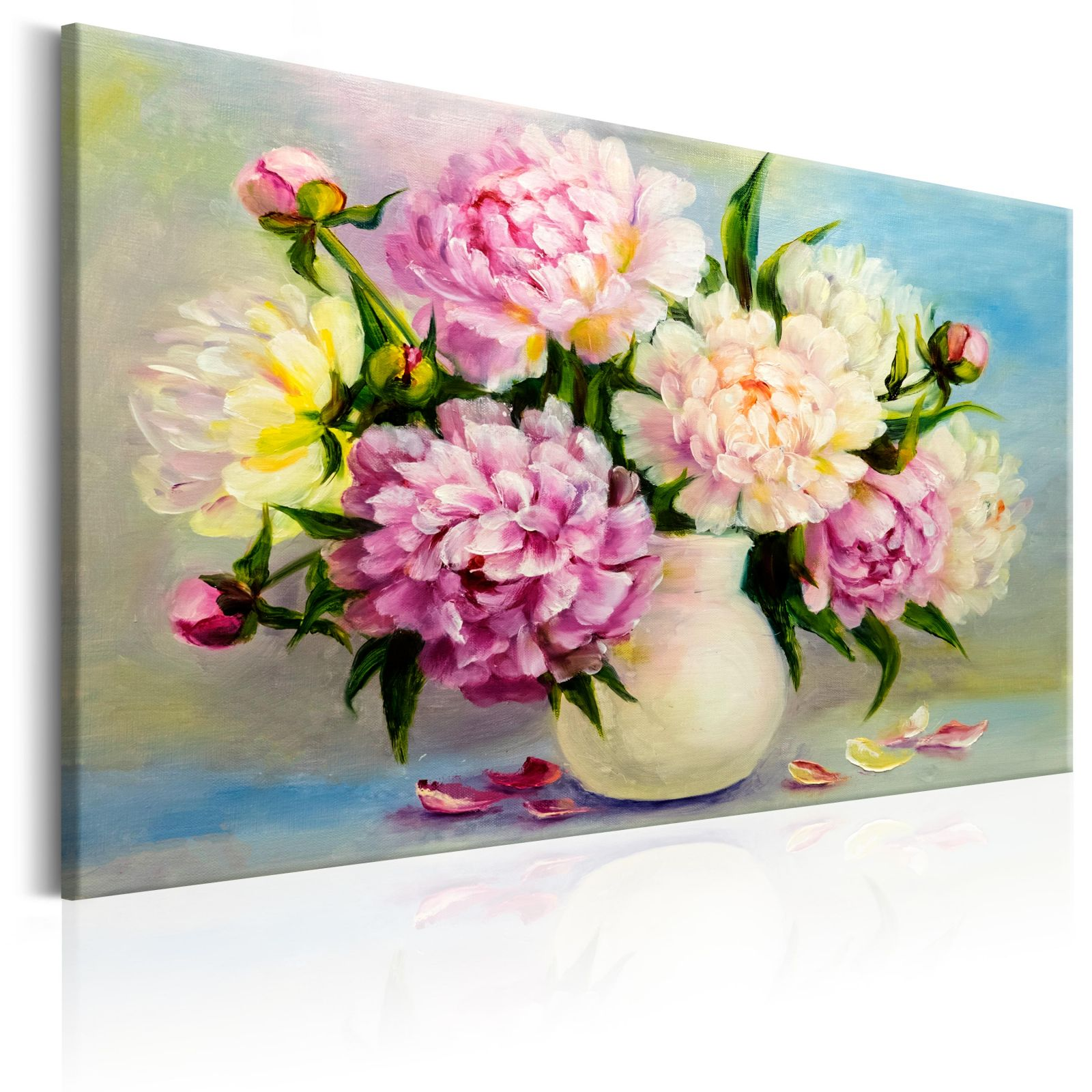 Obraz - Peonies: Bouquet of Happiness