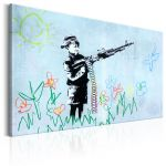 Obraz - Boy with Gun by Banksy