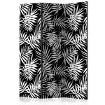 Paraván - Black and White Jungle
