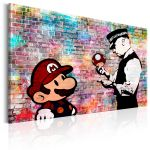 Obraz - Banksy: Colourful Brick