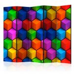 Paraván - Colorful Geometric Boxes