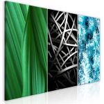 Obraz - Structures in Nature (3 Parts)   120x60