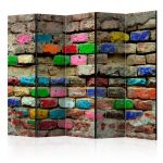 Paraván - Colourful Bricks II