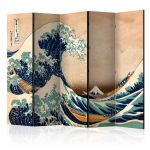 Paraván - Hokusai: The Great Wave off Kanagawa (Reproduction) II